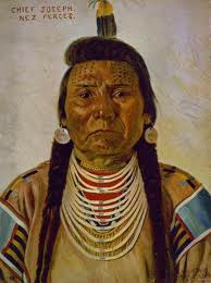 Nez Perce Indian Chief Joseph